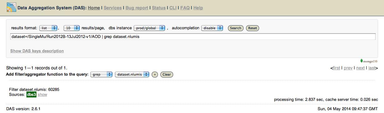 WorkBookCRAB3Tutorial < CMSPublic < TWiki