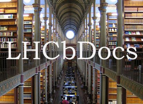 LHCbDocs < LHCb < TWiki