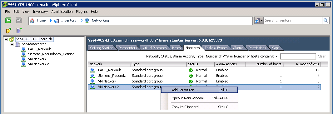 VSSIVMwarevCenterInfrastructure < Main < TWiki